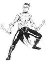 Johnny the Homicidal Maniac by charkxl
