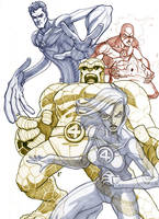Fantastic Four REDUX by charkxl