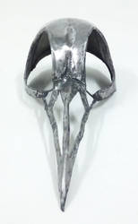 Bird skull (helmet/mask) front view by AlicesWandering