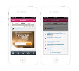Dribbble app by NumarisLP
