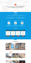 Fresh onepage portfolio