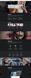 Creatico - HTML5 onepage creative portfolio by NumarisLP