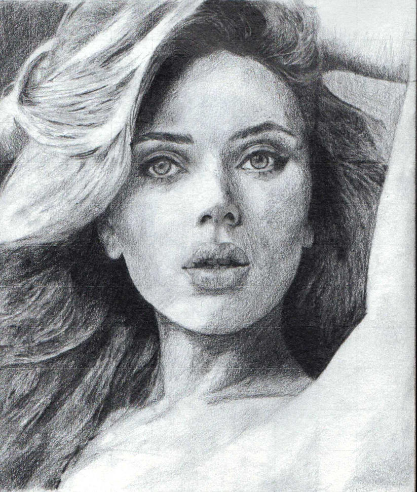 Scarlett Johansson by samurai-dkt