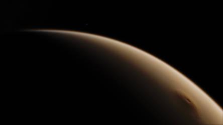 Mars Olympus Mons 4K