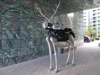 A Mechanical Norwegian Deer by BigA-nt