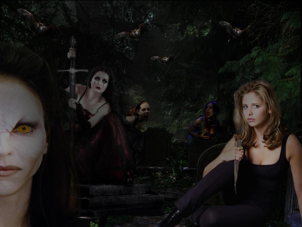Buffy the Vampire Slayer by BigA-nt