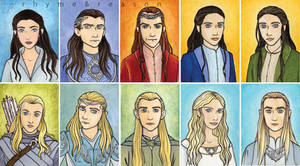 elves of middle earth