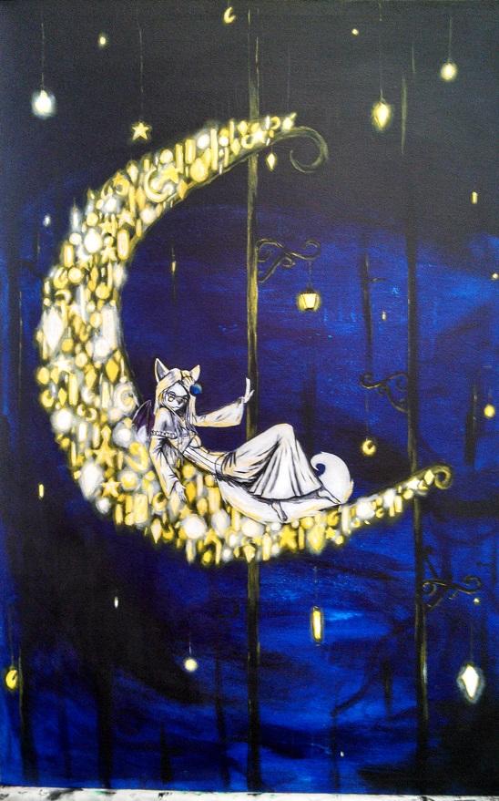 Moon by Alacardkane