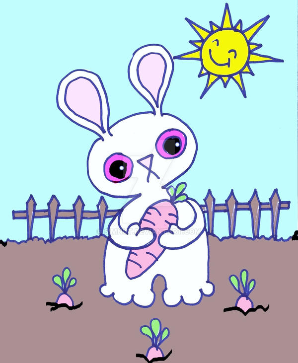 chubby bunny coloring pages - photo#19