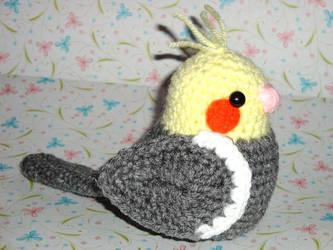 Grey Cockatiel by Simnut