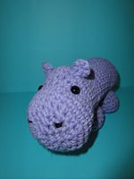 Lavendar Hippo by Simnut