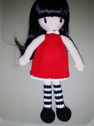 Gorjuss Amigurumi girl by Simnut