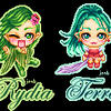 Final Fantasy Gals by lirana
