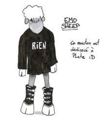 Emo Sheep by AnurenWaedor