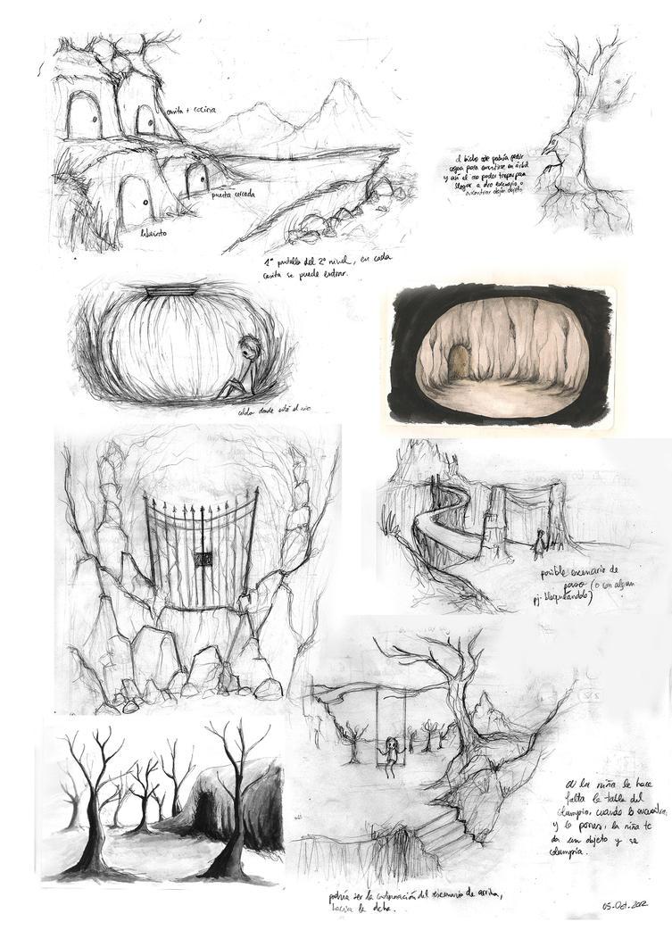 Slumberie Concept Art 2 by Nuditon