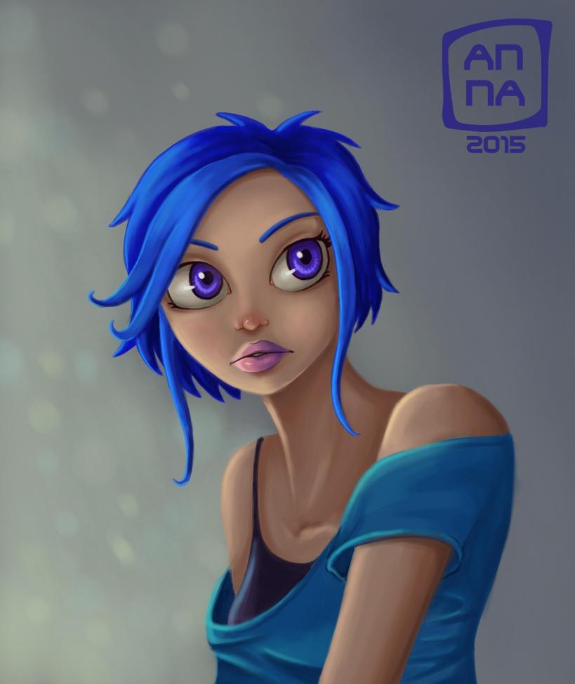 Blau by Nuditon