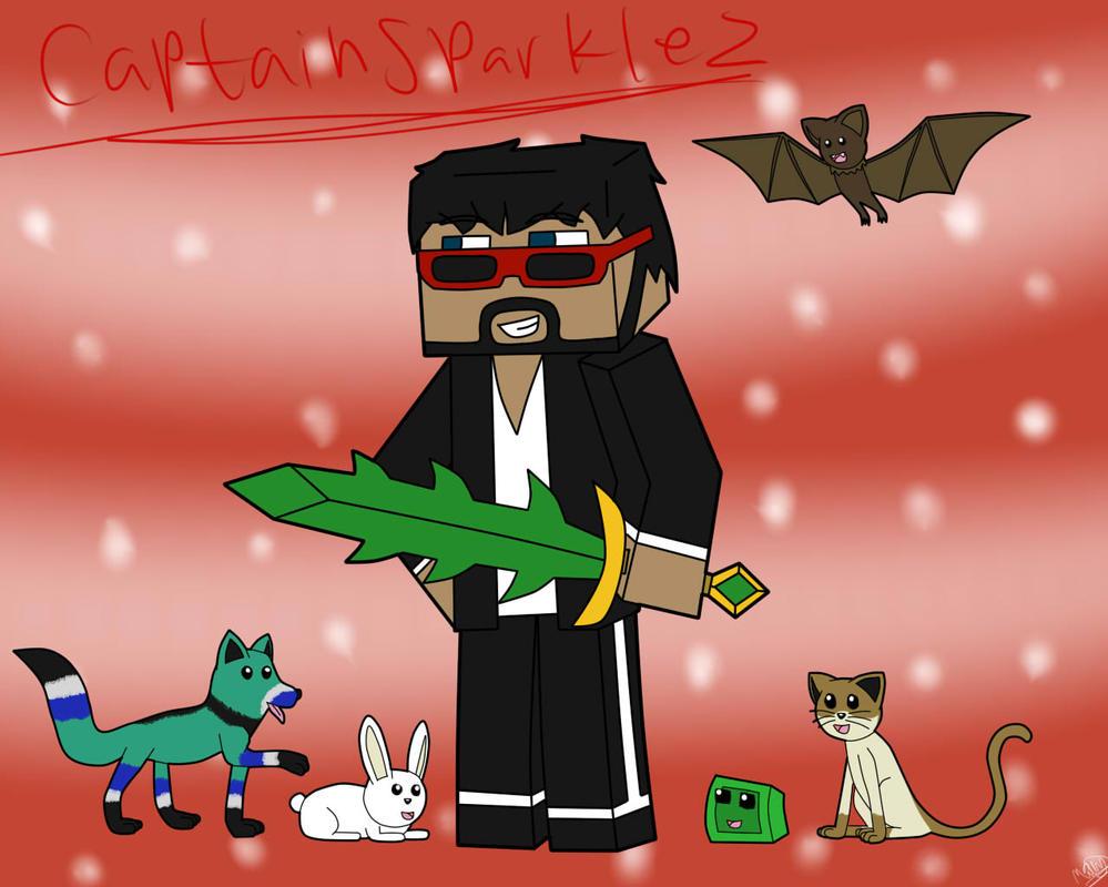Minecraft Youtuber: CaptainSparklez by Tullemor2007 on ...