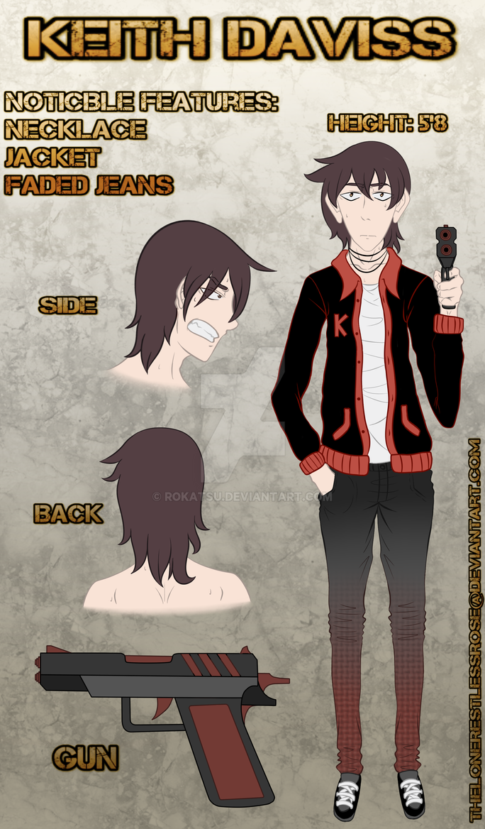 Keith Daviss Ref Not An Oc By Rokatsu On Deviantart