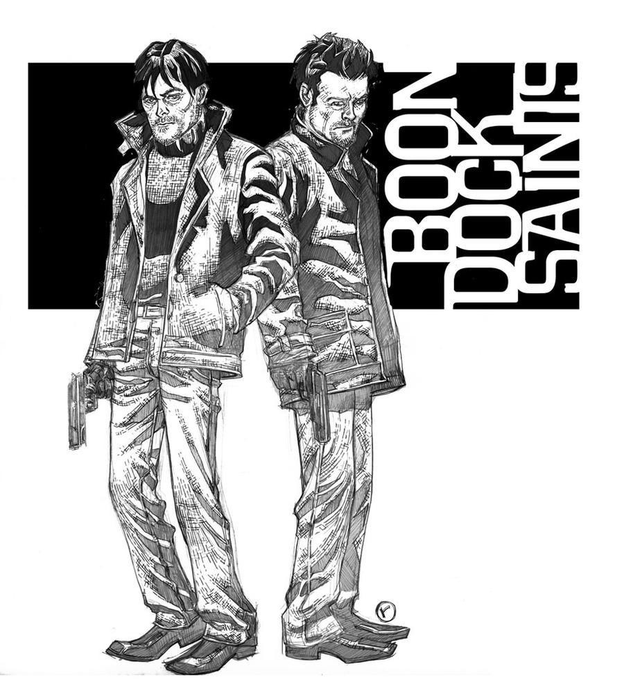 Boondock saints 3 by riq on deviantart - Boondock saints cartoon ...