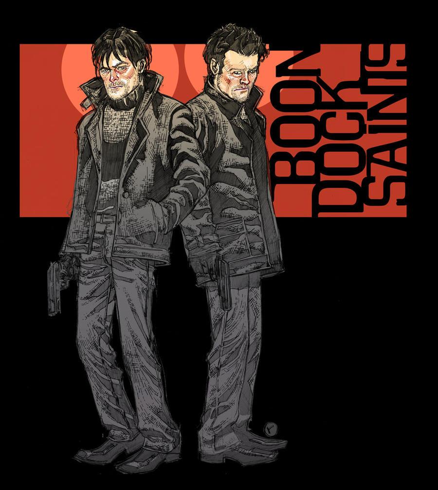 Boondock saints 4 by riq on deviantart - Boondock saints cartoon ...