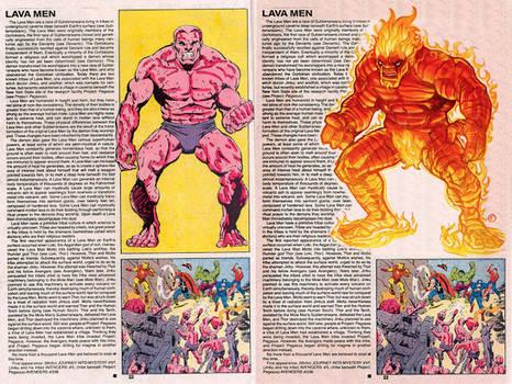 Lava Men by Tariq Hassan
