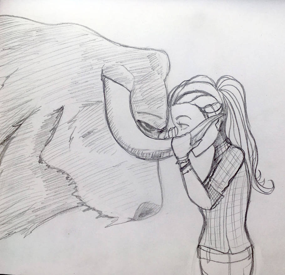 Prendre le taureau par les cornes by kaouahana