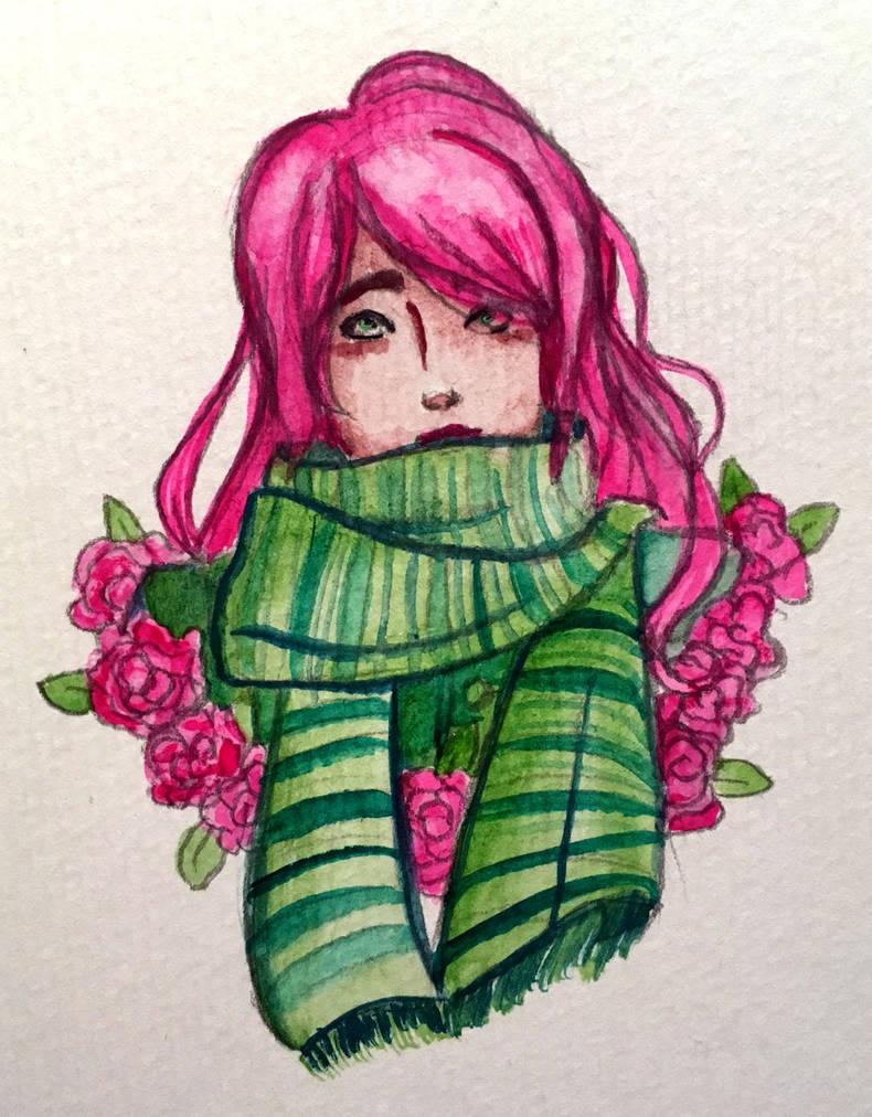 Rose by kaouahana