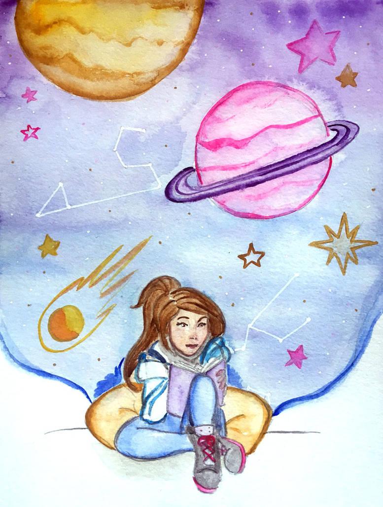 Need a little space by kaouahana