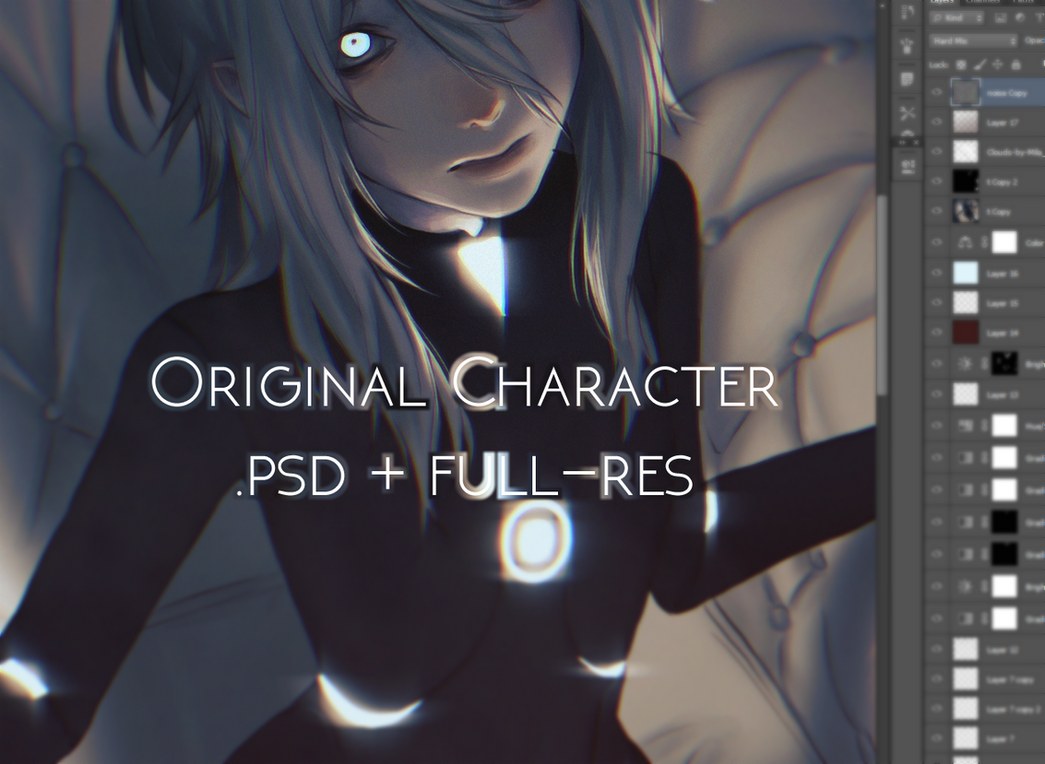 OC Illustration Files by 23i2ko