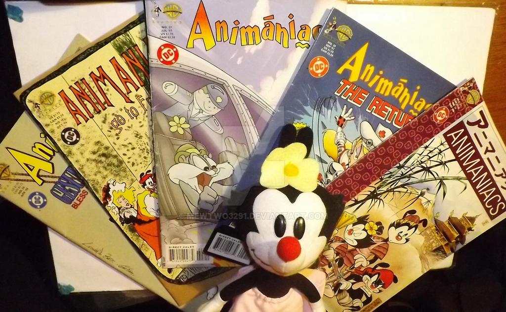 ANIMANIACS STUFF!!! SWEEET!! by mewtwo3291