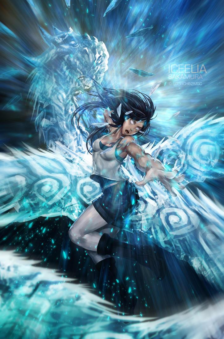 Ice Dragon's Roar by scorch62msc