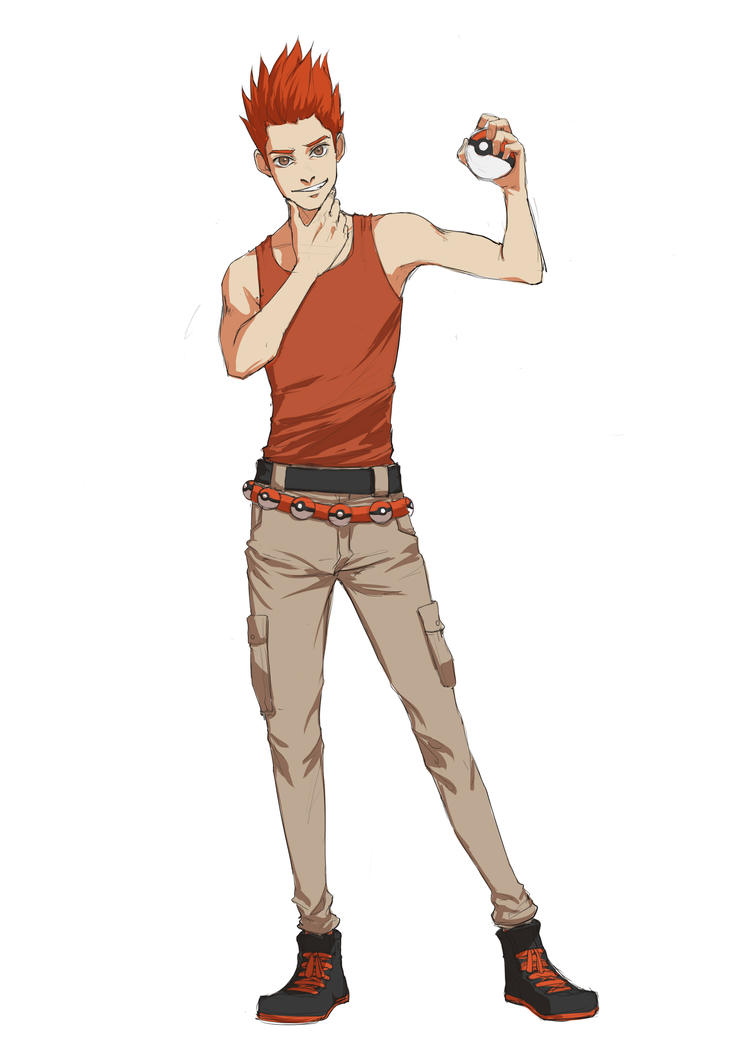 Pokemon Oc Gym Leader Hadell By Scorch62msc On Deviantart