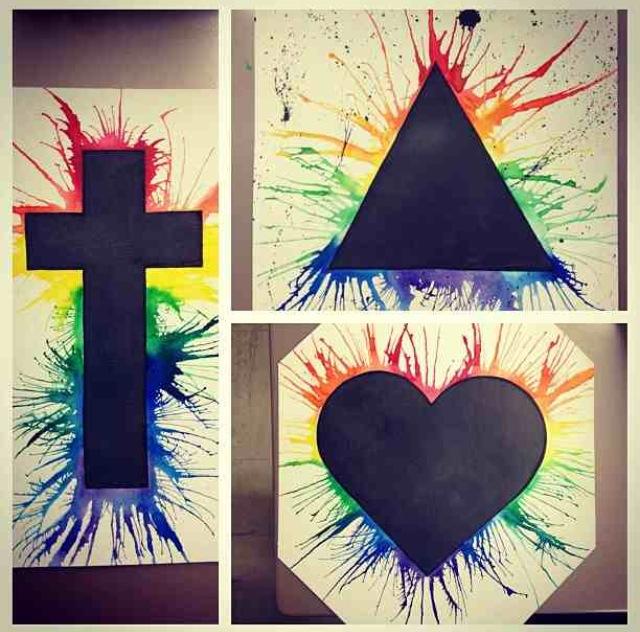 Rainbow Splash by Idkquestion