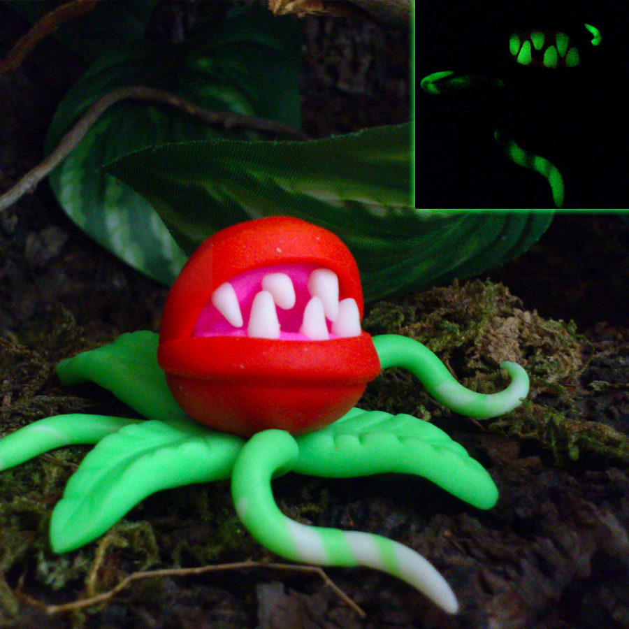 Glow In The Dark Carnivorous Plant by Wild-Animal-Spirit