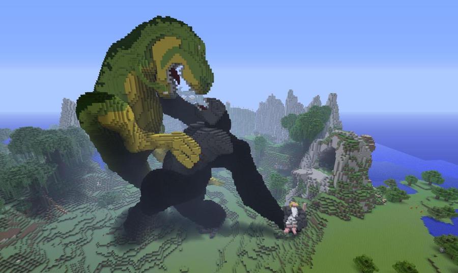 Godzilla vs king kong by lord of nerds
