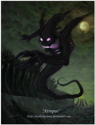 Atropos bane elemental by Chenthooran