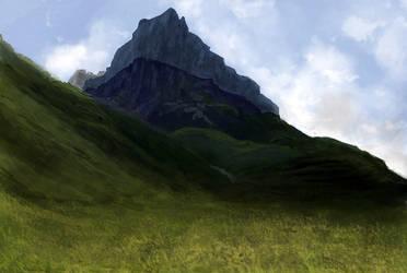 mountainsketcher1 by Chenthooran