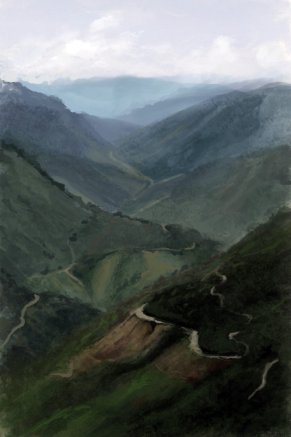 Un encargo de primavera.  Mountainsketcher4_by_mythrilgolem1