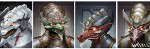 SotS 2: Zuul Portraits by Chenthooran