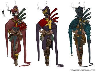 Priestess Variations by Chenthooran