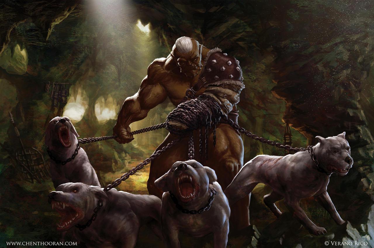 Ogre Huntsman by mythrilgolem1 on DeviantArt