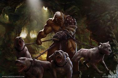 Ogre Huntsman by Chenthooran