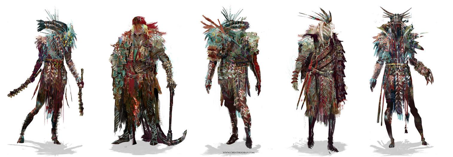 Advanced Warshamans by Chenthooran