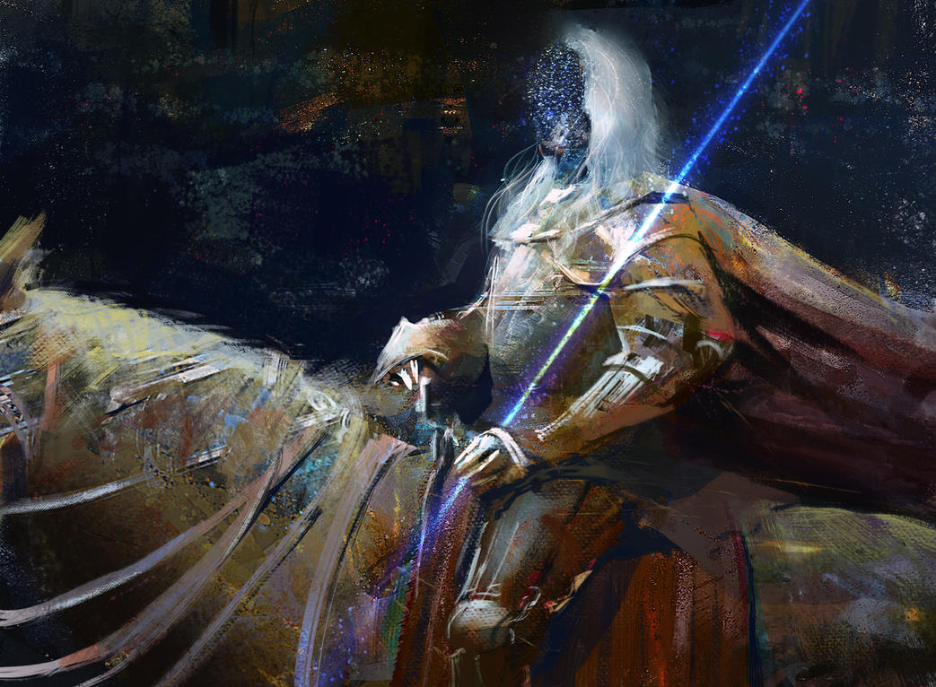 Starry Knight by mythrilgolem1