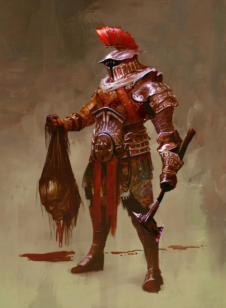 The Slayer Has Returned by mythrilgolem1