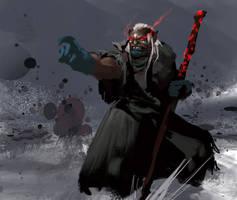 Orc Shaman 3 by Chenthooran