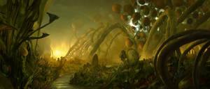 Alien Landscape by Chenthooran