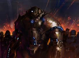 Battle Gear by Chenthooran