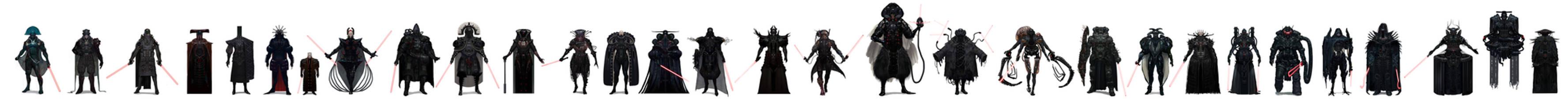 Vader Lineup