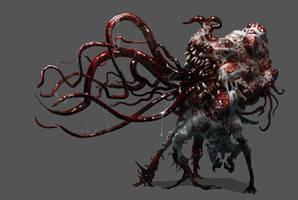 Necromorph 6 by Chenthooran